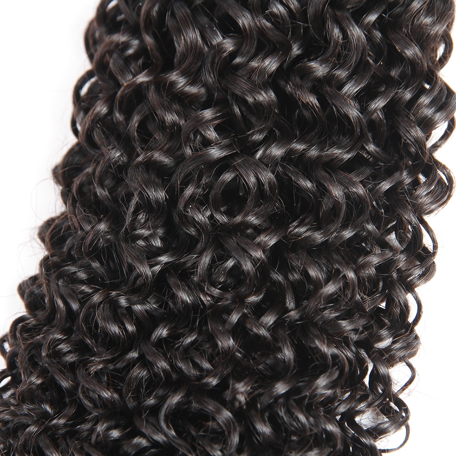HCDIVA Malaysian Afro Kinky Curly Human Hair Weaving Mixed Length 10-28 inch 1 Bundle / Lot 100% Human NonRemy Hair Bundle weft