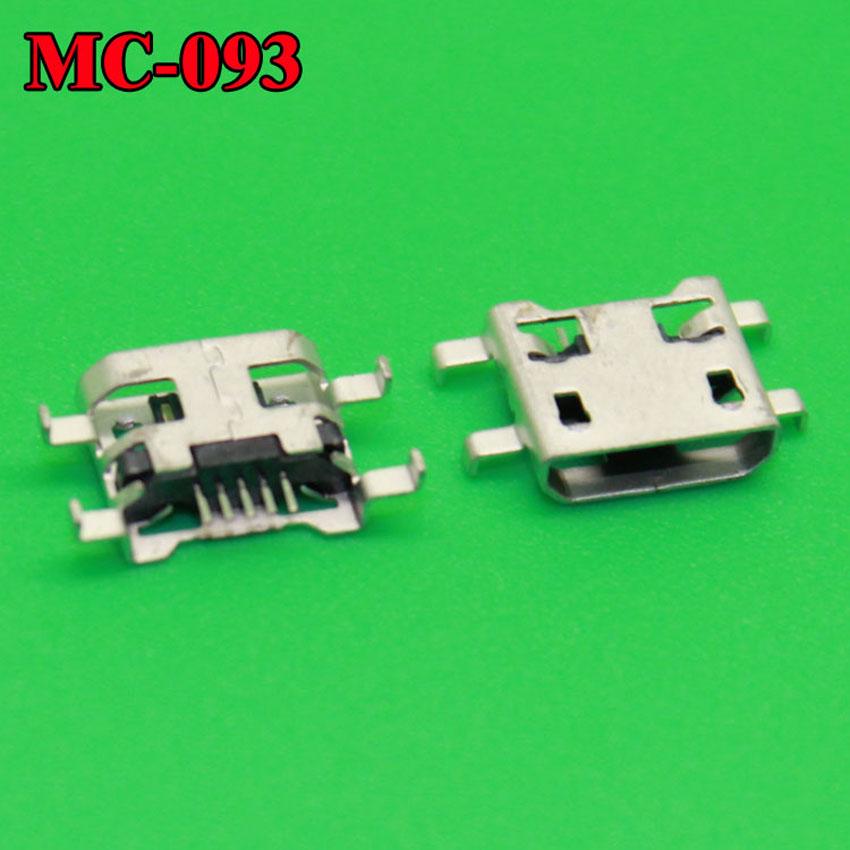 20PCS/lot micro 5p USB jack connector socket for phone charging port,data tail port,4 foot DIP(China (Mainland))