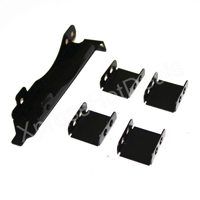 3 Fans Mount Rack PCI Slot Bracket for Video Card +3 80MM PC Case Fan(China (Mainland))