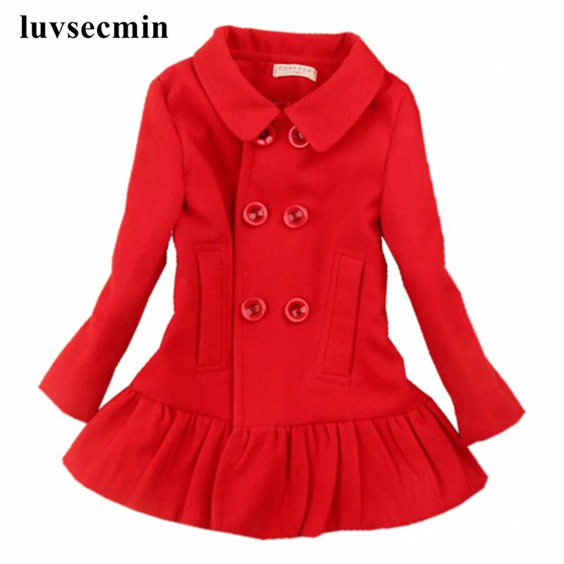 filles rouge laine manteau promotion achetez des filles rouge laine manteau promotionnels sur. Black Bedroom Furniture Sets. Home Design Ideas