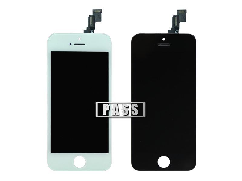100% Brand New White/Black-Replacement for Iphone 5C LCD Screen Assembly LCD digitizer touch screen Display With Free Shipping(China (Mainland))
