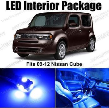 Free Shipping LED Lights Interior Package Deal for Nissan Cube 2009-2011