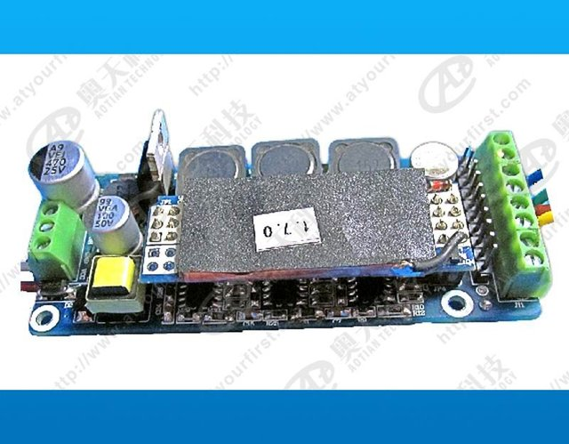 DMX constant current decoder & driver;DC12V input;RGB*3*3W/640ma output;can driver 3pcs 3W single color LED
