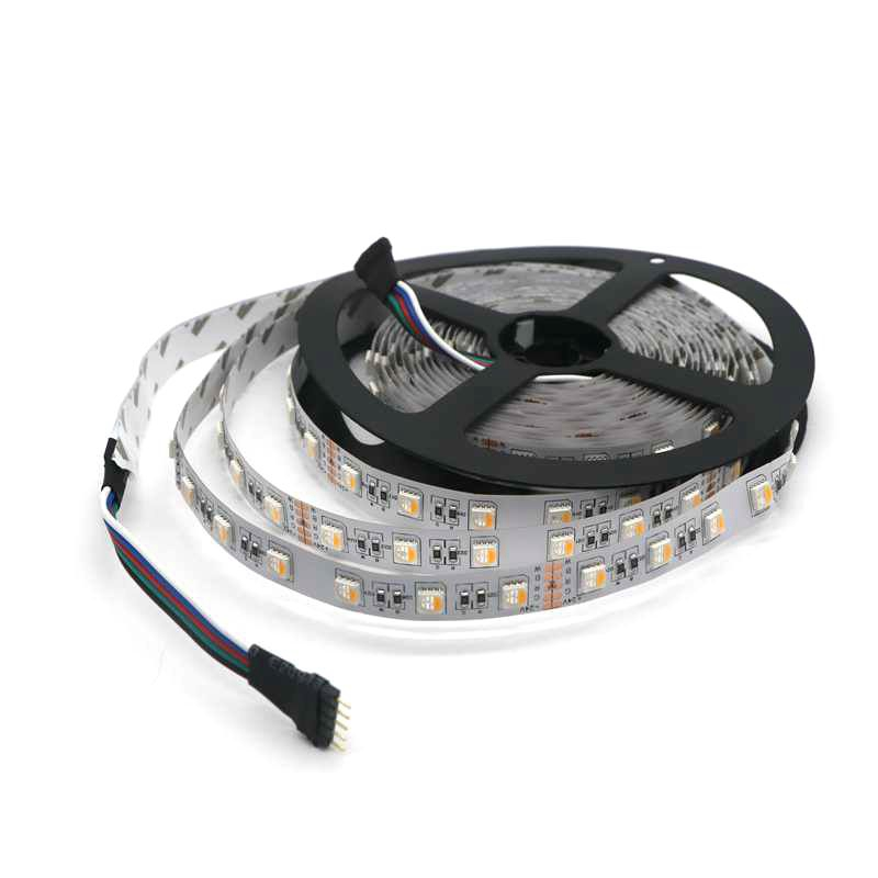 2015 Newest led strip smd 5050 RGBW 4 in 1 chip RGBW led strip light 12V DC 24V DC widely use for hotel wedding party decoration(China (Mainland))