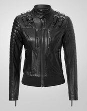 2016 New Fashion Autumn Winter Women Motorcycle Faux Soft Leather Jackets Pu Black Zippers Long Sleeve Outerwear Coat(China (Mainland))