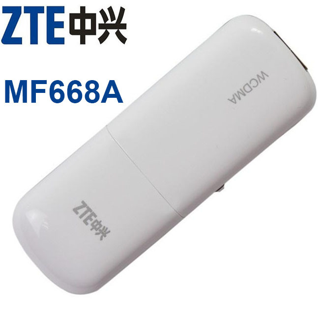 ZTE MF668A WCDMA 3g wireless internet card 3G USB Modem and 3G dongle Data Card(China (Mainland))