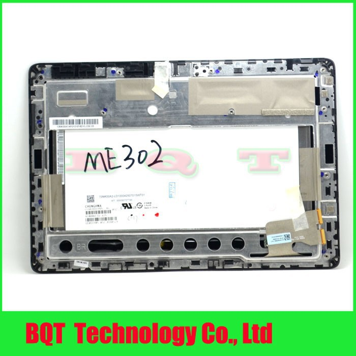 Фотография ME302C LCD For ASUS ME302 Tablet PC LCD Display Touch Screen With Frame Assembly 100% Guarantee Free shipping