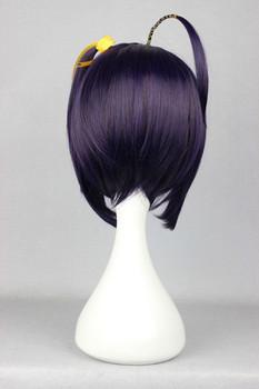 [Two Braids] Dark Purple 35cm  Cute Cosplay Wig