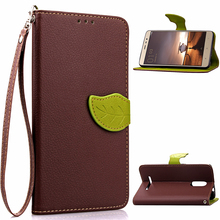 """Buy Xiaomi Redmi Note 3 Flip Case 5.5"""" Leaf Leather Wallet Case Redmi Note 3 Pro Stand Wallet Cover Phone Shell Card Holder for $3.96 in AliExpress store"""