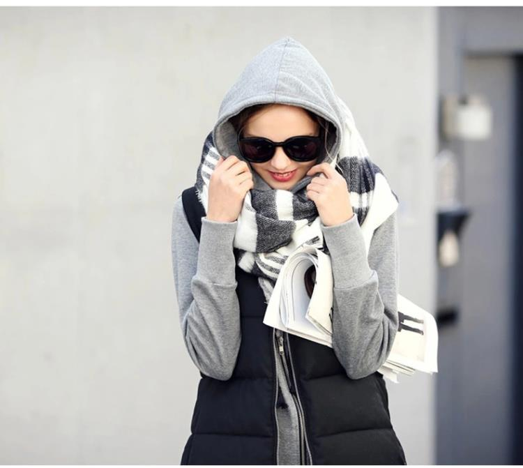 Luxury Brand Winter 2016 font b Tartan b font Scarf Fashion Plaid Scarf Spandex New Designer