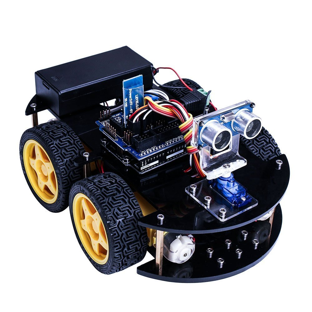 uno projet intelligent robot voiture kit avec uno r3. Black Bedroom Furniture Sets. Home Design Ideas