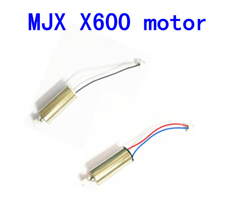 Free Shipping CW CCW Motor Spare Parts for MJX X600 RC Quadcopter Helicopter 2pcs/lot(China (Mainland))