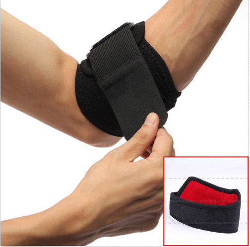 1 Pcs Adjustable Tennis Golf Elbow Support Golfer's Strap Elbow Lateral Pain Syndrome Epicondylitis Brace For Right or Left(China (Mainland))