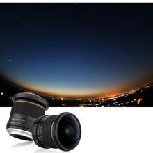 Buy Lightdow Upgraded Version 8mm F/3.5 Aspherical Circular Ultra Fisheye Lens Canon 650D 750D 700D 600D 550D 500D 1000D 1100D for $146.96 in AliExpress store