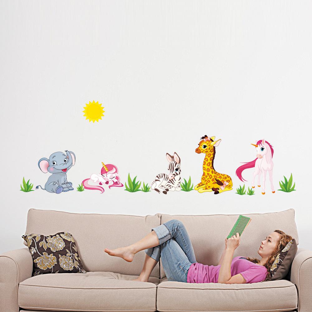 ... Giraffe Wallpaper For Bedrooms Piazzesi Us ...