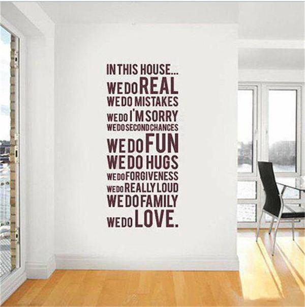 Aliexpresscom Buy 2015 PVC Wall Sticker Quotes fashion