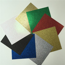 360pieces 12*12 inch Size colorful glitter paper cardstock for cards and decorations (China (Mainland))
