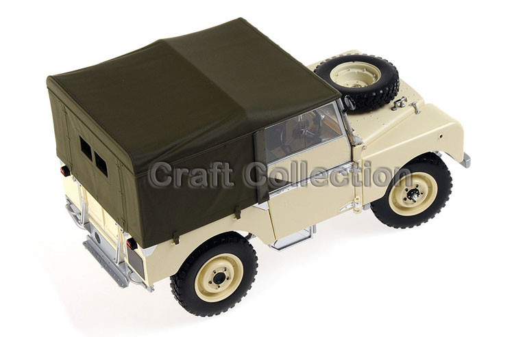 Cream Yellow Automobile Mannequin for 1/18 Rover Sequence- I LTD 1948 Minichamps Basic Assortment Diecast Mannequin Automobile DIY Mannequin Customs Made