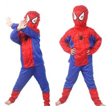 Outfit Spiderman Costume for Kids Party