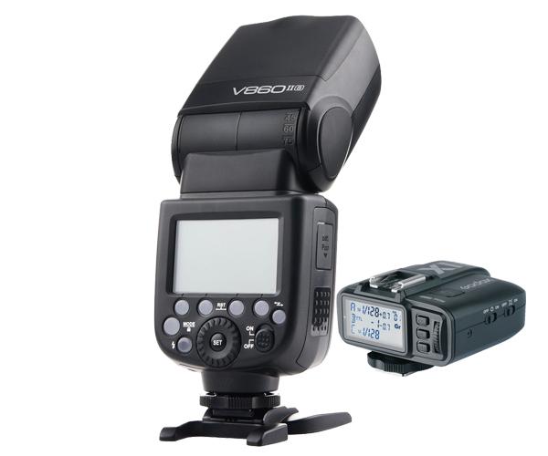 Godox V860II-S V860II TTL Recycling Speedlite Flash & X1T-S Trigger Transmitter For Sony A7 A7S A7R(Hong Kong)