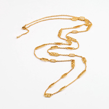 Colares Femininos 2015 New Design Long Necklace Gold Color Chain Women Fashion Jewelry Gargantilha