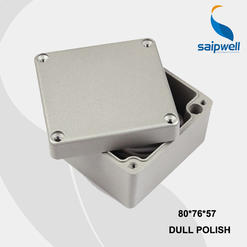 80*76*57mm Size Industrial Waterproof Aluminium Box / Electrical Aluminium Enclosure With CE,ROHS(China (Mainland))