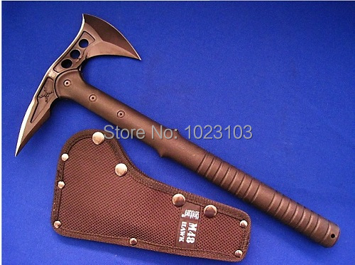 SOG M48 Tactical Axe Tomahawk Army Outdoor Hunting Camping Survival Machete Axes Hand Tool Fire Axe Hatchet(China (Mainland))