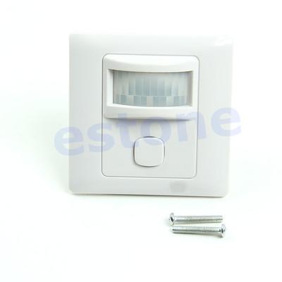Гаджет  Free Shipping New IR Infrared Motion Sensor Automatic Light Lamp Switch 200V-250V AC None Электронные компоненты и материалы