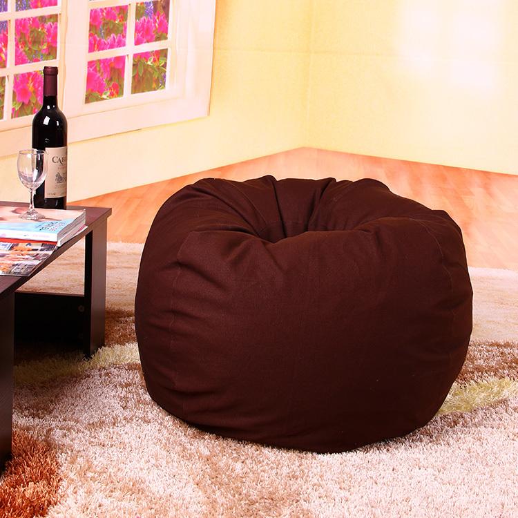 Kids Round Donut Ball Beanbag Size D60cm Beanbag Chair Bean Bag Sofas Set Living Room