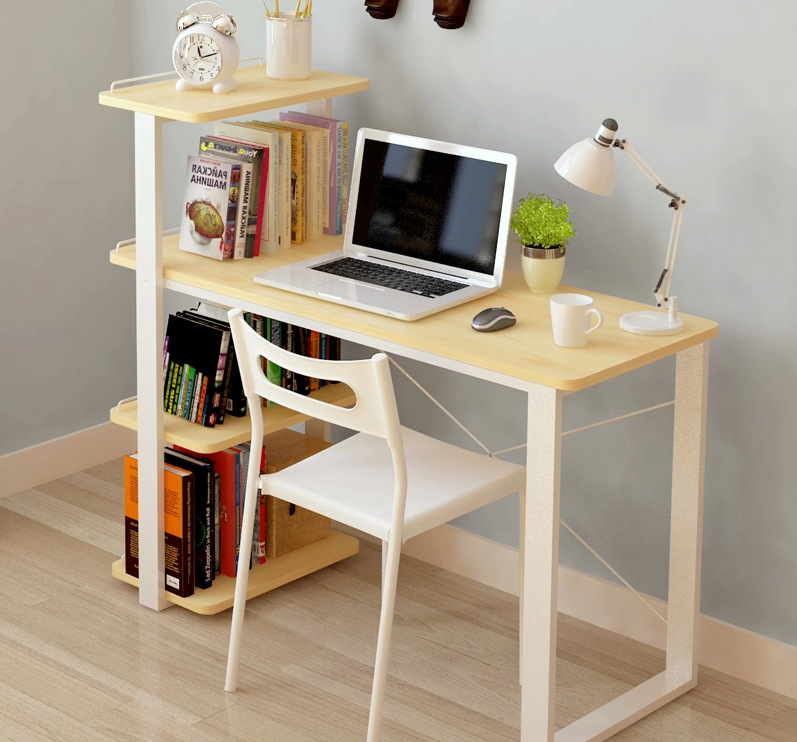 Online get cheap solid oak bookcase alibaba group - Home office furniture solid wood ...