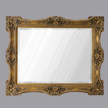 European Antique Refined Mirror Luxury Golden Frame Decor Wall Art Hotel or Beauty Salon or Bathroom Used(China (Mainland))