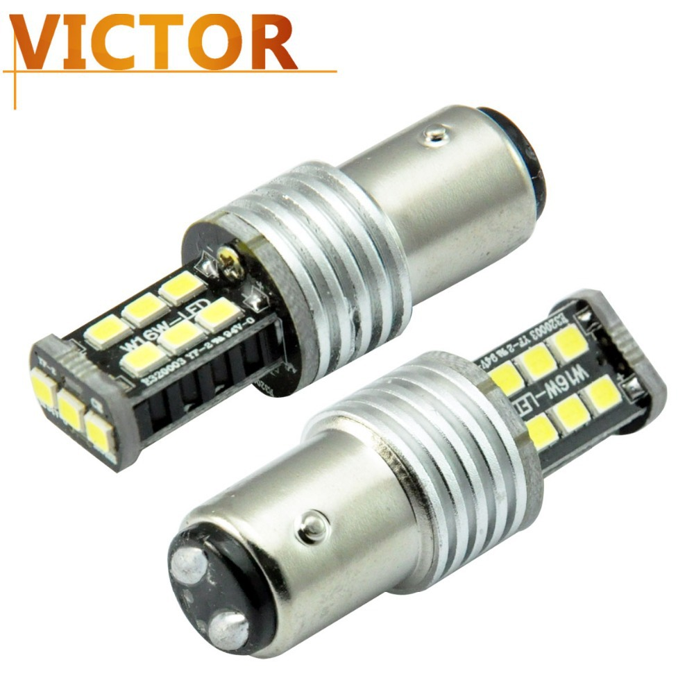 1156 ba15s s25 p21w 15smd 3535 led car light source Error Reverse Canbus Back Reversing #VF56-1 - Victor Auto Co.,Ltd store