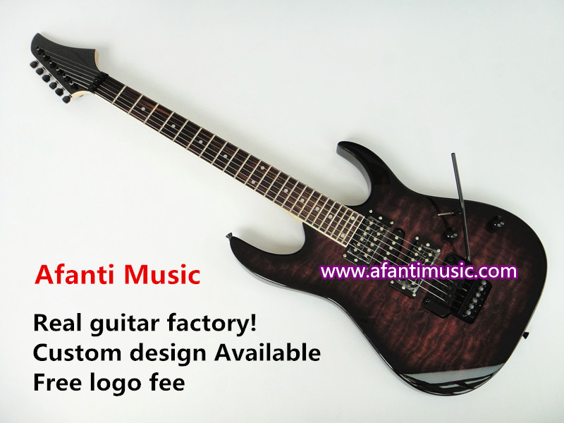 Afanti Music / JS style / Quilted Maple top / electric guitar (AJSG-059)<br><br>Aliexpress
