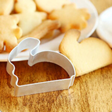 1pc Cute Rabbit Biscuit Candy Mold Cake Pastry Baking Machine Mold Tool Baking Cake Mold Free Shipping(China (Mainland))