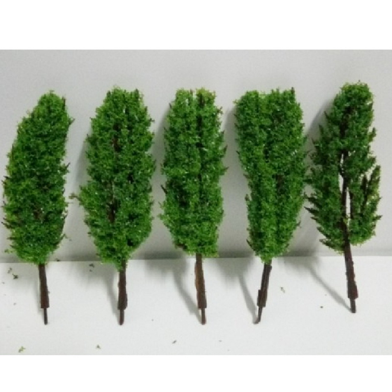 6 Pcs/Pack Variety Of Height Options Small Trees Model Train Railroad Scenery Sand Table Model Tree Hot Selling(China (Mainland))