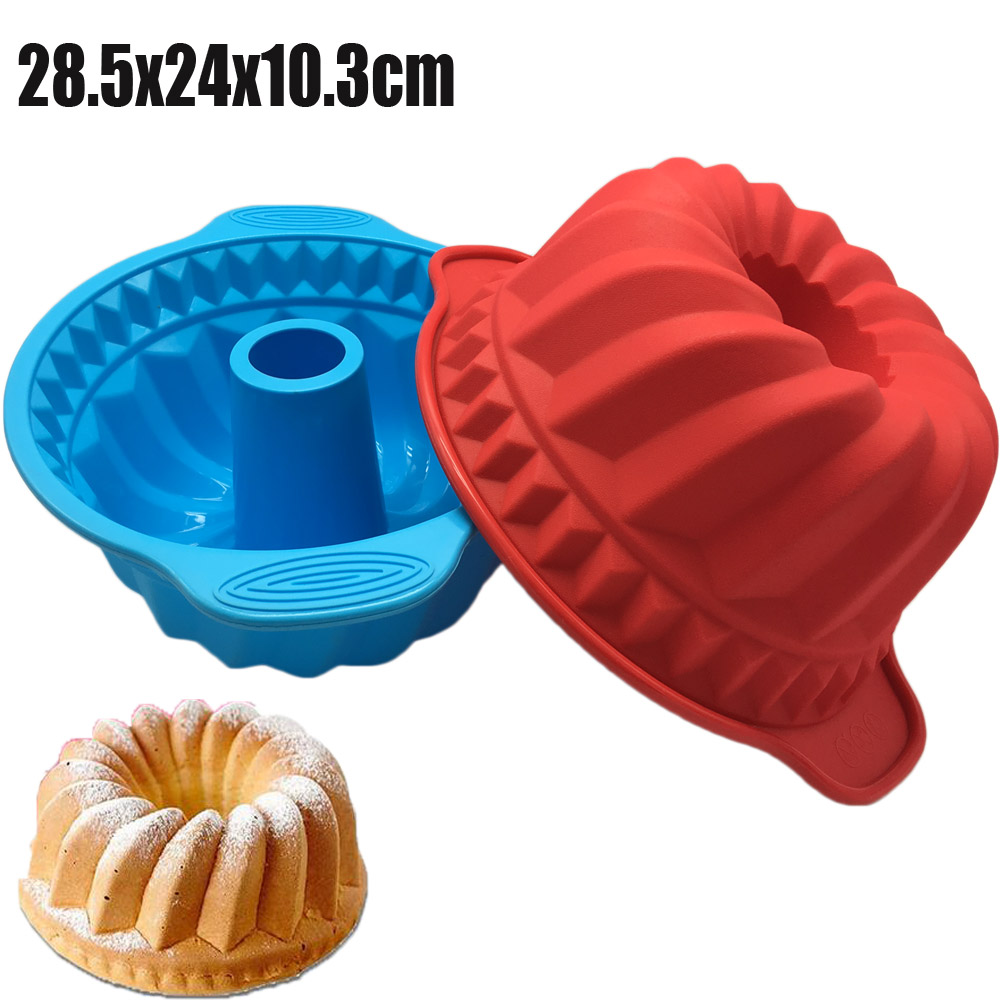 2017 New Arrival Big and Beautiful Round Pumpkin Shape 3D Silicone Cake Mold Baking Tools For Bakeware DIY Cake Tools(China (Mainland))