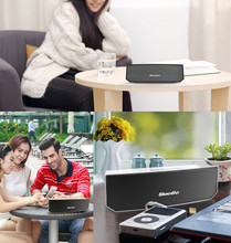 Free Ship Blue Dio BS-3 Mini Bluetooth speaker Portable Wireless speaker Home Theater Party Speaker Sound System 3D stereo Music