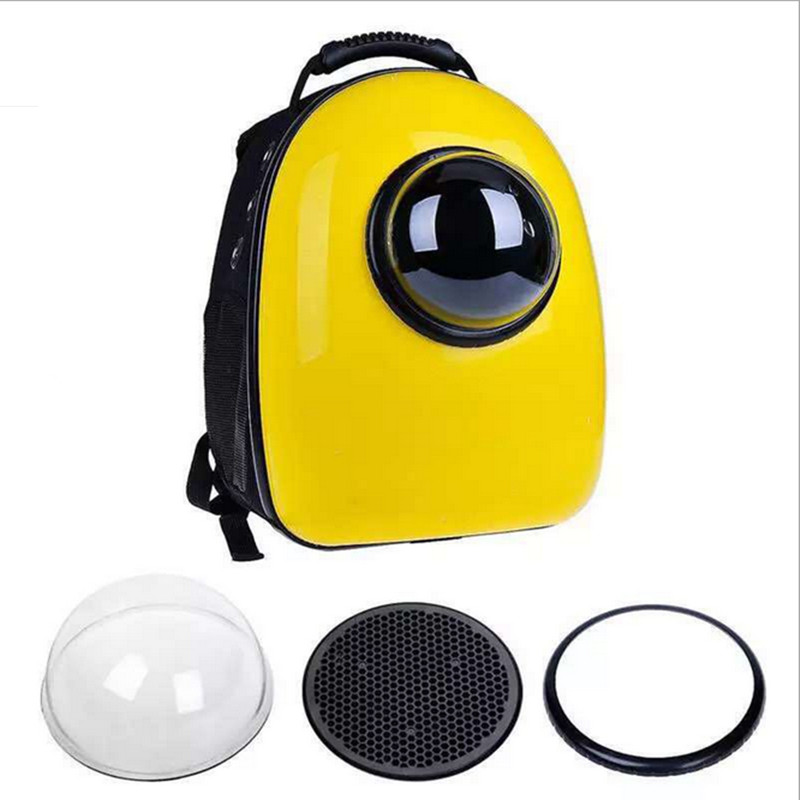 Space Capsule Shaped Pet Carrier Breathable pet backpack PC pet dog outside Travel bag portable bag cat bags GP160429-3(China (Mainland))