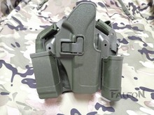 Buy Glock 17 Leg Holster Tactical Blackhawk CQC Green Airsoft Compact Holster G18 19 22 23 31 32 for $10.14 in AliExpress store