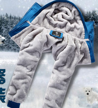 Men's wear, men's hooded fleece winter coat sport baseball uniform arm and wool in winter to keep warm