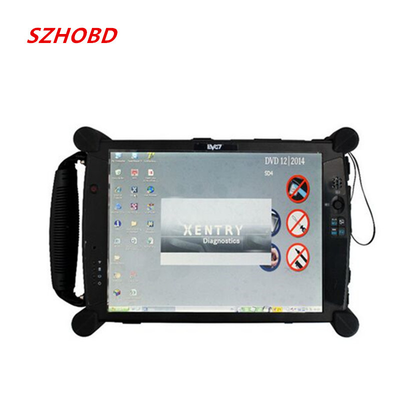 EVG7 DL46/HDD500GB/DDR2GB Diagnostic Controller Tablet PC professional garage and mechanic car repair services(China (Mainland))
