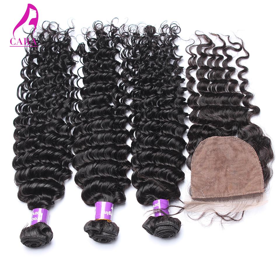 Silk base closure with hair bundles malaysian virgin hair deep wave lace closure with hair bundles 4pcs lot malaysian deep wave<br><br>Aliexpress