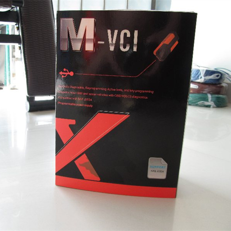 xhorse mvci 3 in 1 V 10.00.028 mvci for toyota it2 for volvo dice for honda tool newest mvci interface top quality free shipping(China (Mainland))