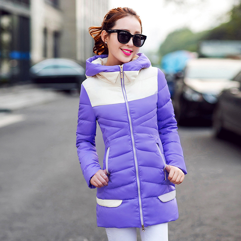 Winter Jacket Women 2015 New Fashion Wadded Jacket Women Winter Coat Down Cotton Coat Slim Parkas Womens Jackets And Coats IF146