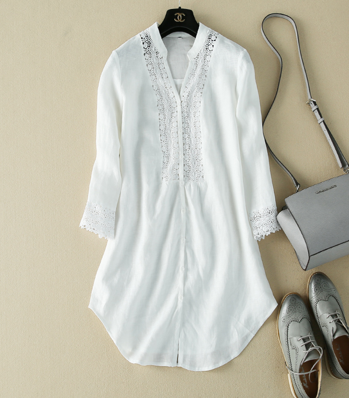 Ladies Linen Blouse 30