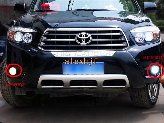 18W 6LEDs 6500K LED Daytime Running Lights LED fog lamp Case for Toyota HIGHLANDER IQ PRIS ALPHA RAV4 YARIS VERSO S VITZ etc.<br><br>Aliexpress