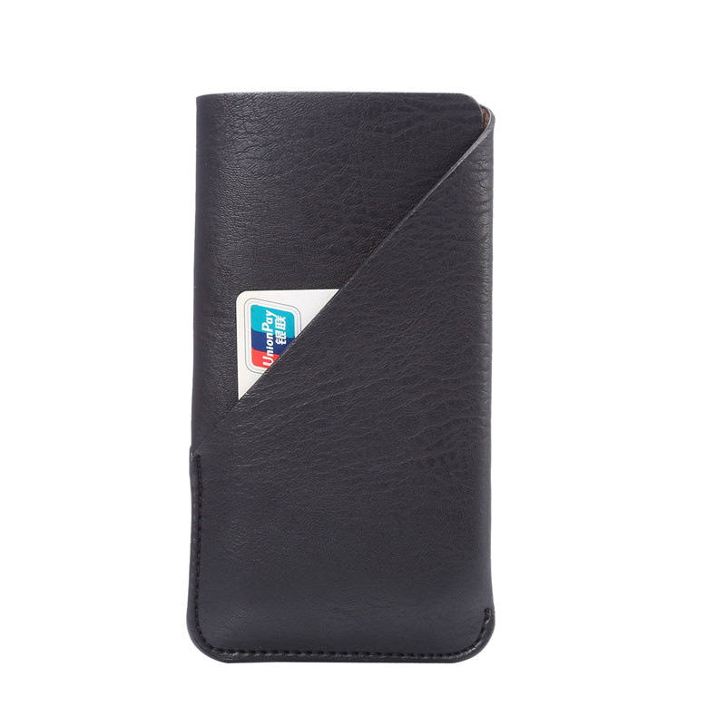 New Fashion Credit Card Holder Bag Leather Phone Case for Sony E6883 Cases Cover Cell Phone Accessories 4 Colors