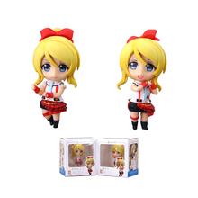 2Pcs Love Live Eli Ayase Ellie Nendoroid School idol Project Japanese Anime Action Figure Toys 8cm PVC Kid Collection Model 0603