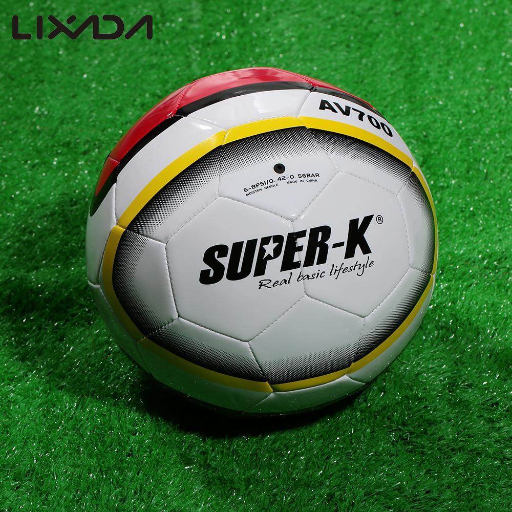 Super-K Football Soccer Ball Size 5 PVC Football Training Balls Machine Sewn PVC Soccer Kids Training Street Soccer Ball(China (Mainland))