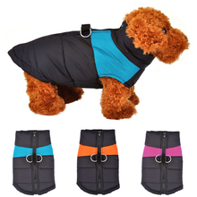 Buy Waterproof Pet Dog Puppy Vest Jacket Clothing Warm Winter Dogs Clothes Coat Small Medium Large Dogs Ropa Para Perros S-4XL for $7.39 in AliExpress store